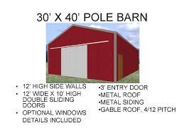 barn 30 x 60 floor plans joy studio design gallery best design for 40 x 60 pole