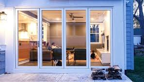 innovative moving glass wall system milgard folding patio doors panoramic throughout brilliant as well attractive cost
