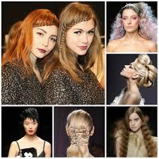 runway hairstyles 2017