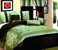 green king size comforter sets queen sage hunter set comf