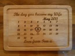 image is loading personalised 5th wedding anniversary chopping board unique wooden