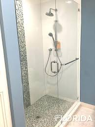 frameless shower door towel bar magnificent outstanding glass image of interior design 17