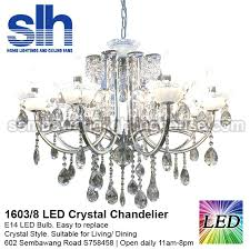 awesome 8 a crystal chandelier led tribecca home silver mist crystal chandelier
