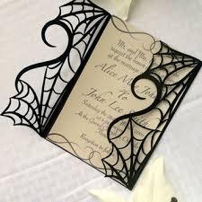 Halloween Wedding Invitations Halloween Wedding Invitation Kits Here Comes Halloween 2018