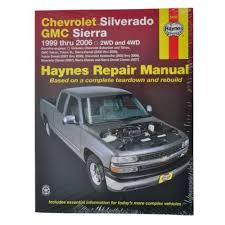 chevrolet silverado repair manual ebay  at Haynes Repair Manual 2016 Chevrolet Equinox Tail Light Wiring Diagram