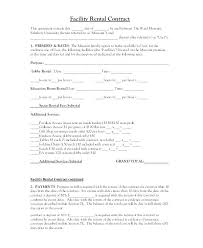 al contract free word doents facility template tenancy agreement doc residential lease r