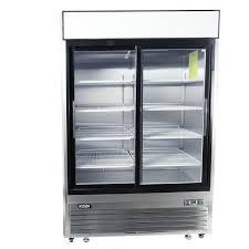 2 sliding glass door reach in refrigerator double glass door commercial fridge 54 inch reach in cooler