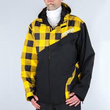 Nomis Touch Snowboard Jacket Xl Yellow Buffalo