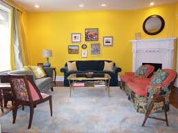 Yellow Living Rooms Living Room Makeover In Progress Bossy Color Annie Elliott