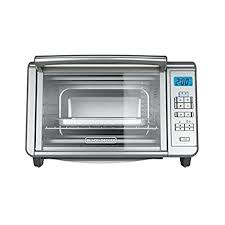 black and digital convection toaster oven reviews specifications decker countertop blackdecker 6 slice silver c