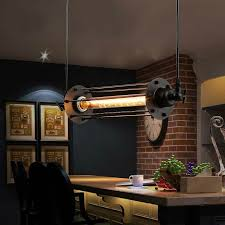 retro kitchen lighting fixtures. LukLoy Vintage Flute Pendant Light Fixtures, Industrial Retro Lamp For Kitchen Island Bar Living Room E27 220V Luminaire-in Lights From Lighting Fixtures