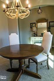 The Brick Dining Room Furniture Bless39er House Restoration Hardware Knock Off No Sew Dining