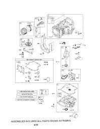 Briggs stratton engine parts model 3317771107b1 sears partsdirect