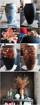 17 Best images about Penny crafts on Pinterest | Wheat pennies, Vase and  Trays