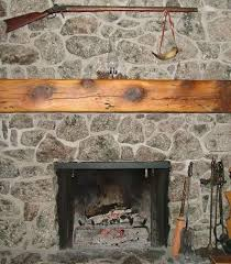 white pine fireplace mantel beam antique woodworks