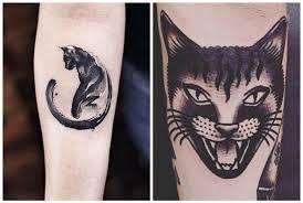 Tatuaggi Con Gatti Neri Significato E Idee Per Ispirarsi