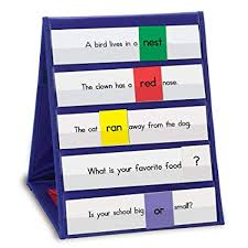 Learning Resources Tabletop Pocket Chart Classroom Tool