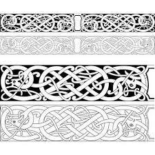 Viking Patterns Custom Norse Pattern Buscar Con Google Windows Pinterest Vikings