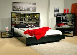 glass bedroom grey king size set
