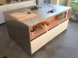 Shiny Kitchen Island