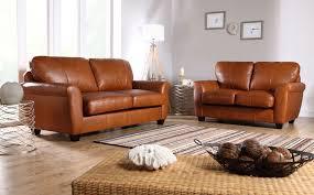 Catchy Light Brown Leather Sofa Tan Sofas Beatnik Oxford Leather Tan