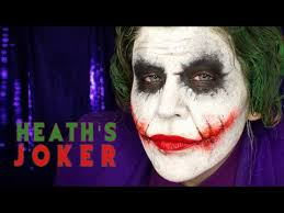 makeup tutorial nine heath ledger s joker from the dark knight you