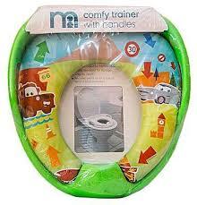 Totos Stuff Disney Cars Kids Padded Toilet Seat Soft Potty Training