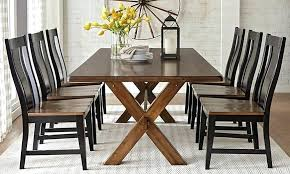 solid oak dining table set home