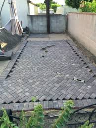 our degree herringbone patio are almost complete diy paver ideas decorating cakes with chocolate photo 3 of 4 awesome patio blocks best ideas on diy paver