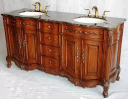 bathroom furniture ideas. 68-Inch Antique Style Double Sink Bathroom Vanity Model 2241-MXC Furniture Ideas