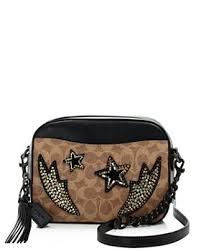 COACH - Rainbow Stud   Crystal Embellished Signature Coated Canvas Camera  Bag - 100% Exclusive ...