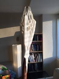 Gandalf Light Staff 3d Printed Gandalf The White Staff With Lights By