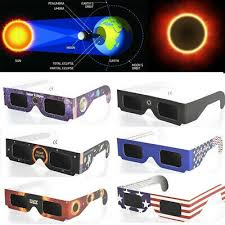 Random Color 10pcs/lot <b>Eclipse</b> Paper Holder Protects Your <b>Eyes</b> ...