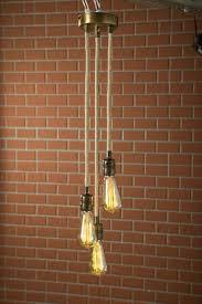 Handgemaakte Touw Hangende Lamp Vintage Hanger Weefsel Kabel Rustieke Pendant Light Opknoping Van De Edison Lamp Touw Pendant Light Rustieke