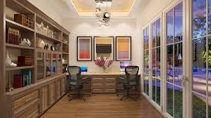 home office style. custom office design trends transitional style home