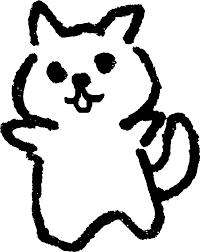 ばんざい犬 かわいいゆるい無料イラストてがきですのβ