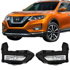 Lights Compatible With 2017 2018 Nissan Rogue Factory Style Fog Light Lamp Kit W Switch Wiring Pairs By Ikon Motorsports