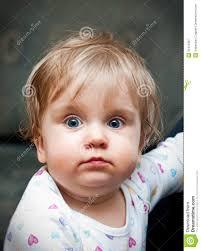 Cute Blonde Hair Blue Eyed Baby