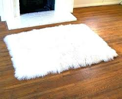 faux fur area rug grey faux sheepskin area rug white of decor red blue independence day