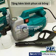 FREESHIP Máy xịt rửa xe Total TGT11236 - 1500W - motor cảm ứng từ giá cạnh  tranh