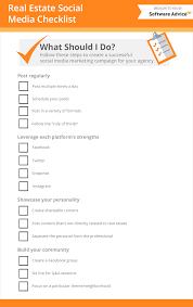 Social Media Marketing For Real Estate Checklist Activities
