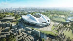 2020 Olympics Stadium Design Zaha Hadids Designs For The Tokyo National Stadium To Be