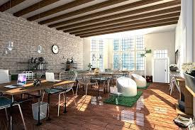 office floor design. Modern Industrial Office Interior Design Contemporary With Wooden Floor Complete
