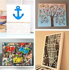 do it yourself canvas wall art ideas