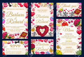 Party Rsvp Template Rsvp Thank You Card On Wedding Party Frame Of Bridal Holiday