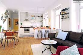 small living room decor ideas picture of and kitchen with open plan home design apartment on