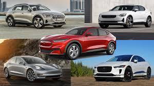2021 Ford Mustang Mach E Vs Jaguar Audi Polestar An Tesla