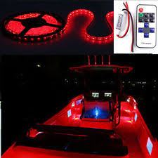led boat deck lights. Item 6 Wireless Red LED Strip Kit For Boat Marine Deck Interior Lighting 16 Ft -Wireless Led Lights N