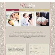 Wedding Website Template Delectable Free Wedding Invitation Website Templates Unique Wedding Invitation