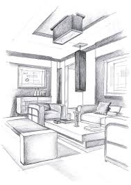 Interior Design Hand Drawings Interior Design Hand Drawings I